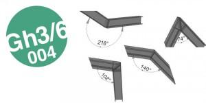 GRASSHOPPER: Parametrisches Rahmeneck