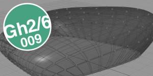 GRASSHOPPER-ÜBUNG: Form mit Spanten/Panelen