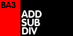 ADD/SUB/DIV